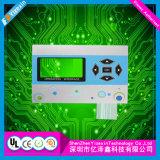 Panneau de contrôle d'appareils électriques avec le bouton capacitif de contact