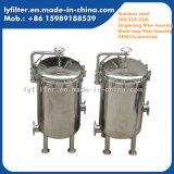 Nahrungsmittelgrad-Edelstahl-gesundheitliches Beutelfilter-Gehäuse für flüssigen Filter