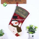 호화스러운 Xmas 스타킹 자루 산타클로스 본래 개인화된 호화로운 크리스마스