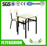 安い学校家具単一学生の机および椅子(SF-28S)