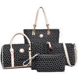 Una borsa all'ingrosso dei 2018 dello stilista 5PCS/Set delle donne di sacchetto di cuoio sacchetti delle signore