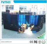 새로운 디자인 360 전망 각 연약한 유연한 발광 다이오드 표시 스크린 SMD 실내 P4