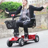 Vespa de cuatro ruedas plegable de la movilidad para el adulto