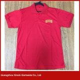Camisas de te aptas de golf del deporte del polo de Dri del bordado de encargo (P72)