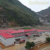 Costruzione prefabbricata dell'acciaio per costruzioni edili per il gruppo di lavoro del magazzino/Camera prefabbricata per l'ufficio