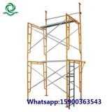 Kundenspezifisches Hochleistungsstahlrahmen-Baugerüst-System