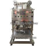 Semi автоматическая пневматическая машина запечатывания чашки