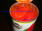 Goma de tomate conservada Brix 28-30% con las tapas abiertas fáciles