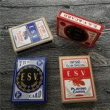 Tarjetas de juego del casino del papel de la base del negro de la alta calidad