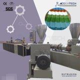 PVC+ASA/PMMA 물결 모양 장 생산 라인
