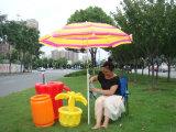 غنيّ بالألوان شريط تصميم ميل حديقة مظلة
