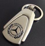 Anel chave de carro de metal da corrente chave do Benz 3D