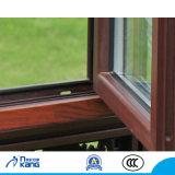 Ak65 de madera compuesto de aluminio con vidrio doble acristalamiento de ventanas