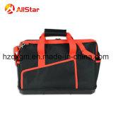 単一の肩ひもおよび堅いベースが付いている大きい容量ポリエステル道具袋のショルダー・バッグ