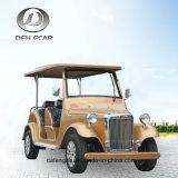 Автомобиль сбор винограда тележки гольфа Ce ISO 8 Seaters Approved электрический классицистический