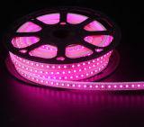 El alto voltaje IP67 impermeabiliza la luz de tira flexible del LED