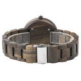 Produto quente 2018 Relógios de madeira natural de homens, Nova chegada Relógios de quartzo de Lazer