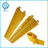 Prezzo 900*500*50mm/900*600*75mm della protezione del cavo del rivestimento giallo dei canali del commercio all'ingrosso 2