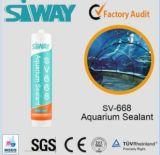 Het enige Verzegelende Dichtingsproduct van het Aquarium van het Silicone van het Glas van het Deel Azijn