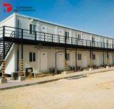 Costruzione d'acciaio prefabbricata del contenitore degli appartamenti