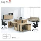 4 Seater 공장은 인간 환경 공학 CEO 사무실 테이블을 주문을 받아서 만든다