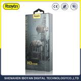 3,5-мм разъем для наушников в проводных наушников для мобильных ПК с водонепроницаемым