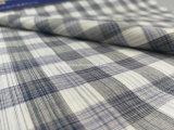 El hilo de algodón teñió la tela teñida espacio de la verificación para Shirt-Lz6244