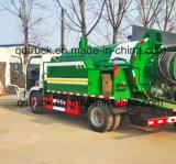 10 van het Riool van de Schoonmakende van de Riolering ton Vrachtwagens van de Zuiging met het Uitwerpen van de Hoge druk