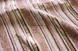 소파와 의자 직물을%s 연한 색 셔닐 실 지구