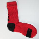Los hombres de algodón personalizadas de alta calidad Deportes Baloncesto Non-Slip calcetines