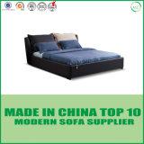 Современная мебель с одной спальней Газа отменил кровать для хранения из натуральной кожи