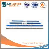 Boa resistência ao desgaste das hastes de carboneto de tungsténio