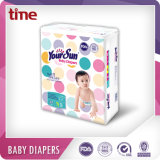 Boa qualidade de absorção elevada Soft e respirável tipo descartáveis das fraldas para bebés