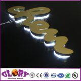 Carta de canal de sinal LED LED de exterior Placa