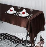Tablecloth do retângulo para a tampa de tabela de linho da tela natural da decoração do casamento