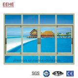 Alumínio Windows deslizante da tela da mosca impermeável para o sistema do projeto de edifício