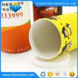 Custom печать картон производство оберточной бумаги трубке с помощью окна