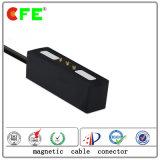 conetor de cabo 3pin magnético preto