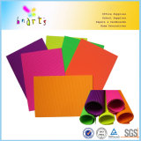 Papel acanalado fluorescente al por mayor 80GSM