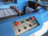 El satén del poliester etiqueta la máquina que raja ultrasónica