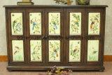 Vogel-Schuh-Arche farbige Zeichnung oder Muster-festes Holz-landwirtschaftliche Möbel (M-X3321)