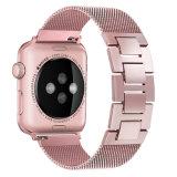 贅沢で最も新しい宝石類の腕時計ストラップのステンレス鋼リンクIwatchシリーズのための移動可能な宝石類バンド