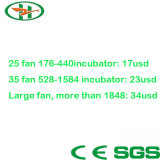 Incubator Shares Circle Fan for Uniform Cool Temperature Fan