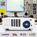 教育1024*768解像度LED LCDプロジェクター