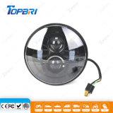 linterna redonda del coche de la luz LED del ciclo de motor 45W para campo a través