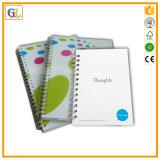 Impression chaude de cahier d'obligatoire spiralé de vente (OEM-GL013)