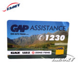 Impressão a Cores de plástico de PVC recompensa Cartão Presente Cartão com Personalizar