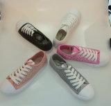 Los encajes de moda Zapatos de lona superior para la Mujer