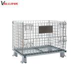 Dobragem Industrial revestido de zinco Steel Wire Mesh Cage