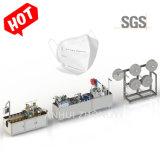 Semiautomáticos KN95 N95 Máscara máquina de fazer a linha de produção em stock